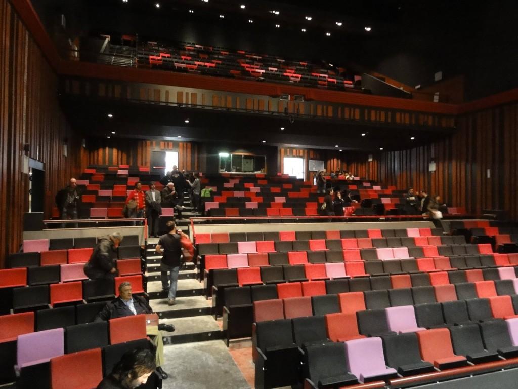 Platea del Teatre Tarragona, que es reobre aquest dimarts 11 de desembre (foto: Tarragona 2012)