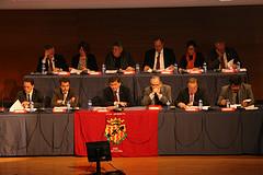 Consell d'administració del Nàstic, en la junta general d'accionistes (Fotos: Gimnàstic de Tarragona)