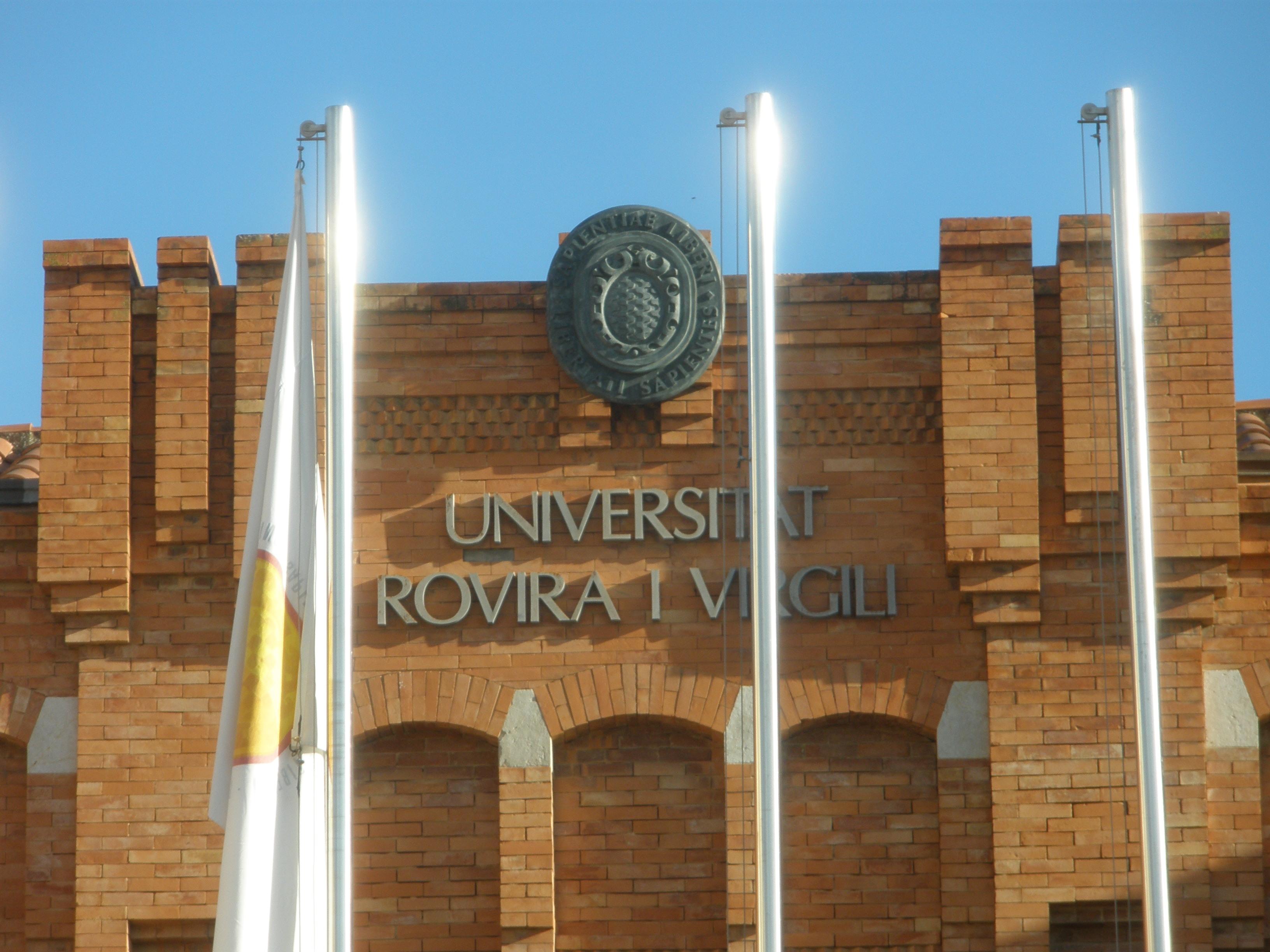 Edifici del Rectorat de la URV, on aquest dijous el Consell de Govern aprovarà el pressupost de 2013