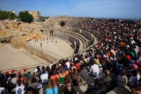 Espectacle de Tarraco Viva a l'amfiteatre