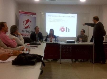 Emprenedors tarragonins expliquen les seves experiències en una taula rodona organitzada per Tarragona Impulsa