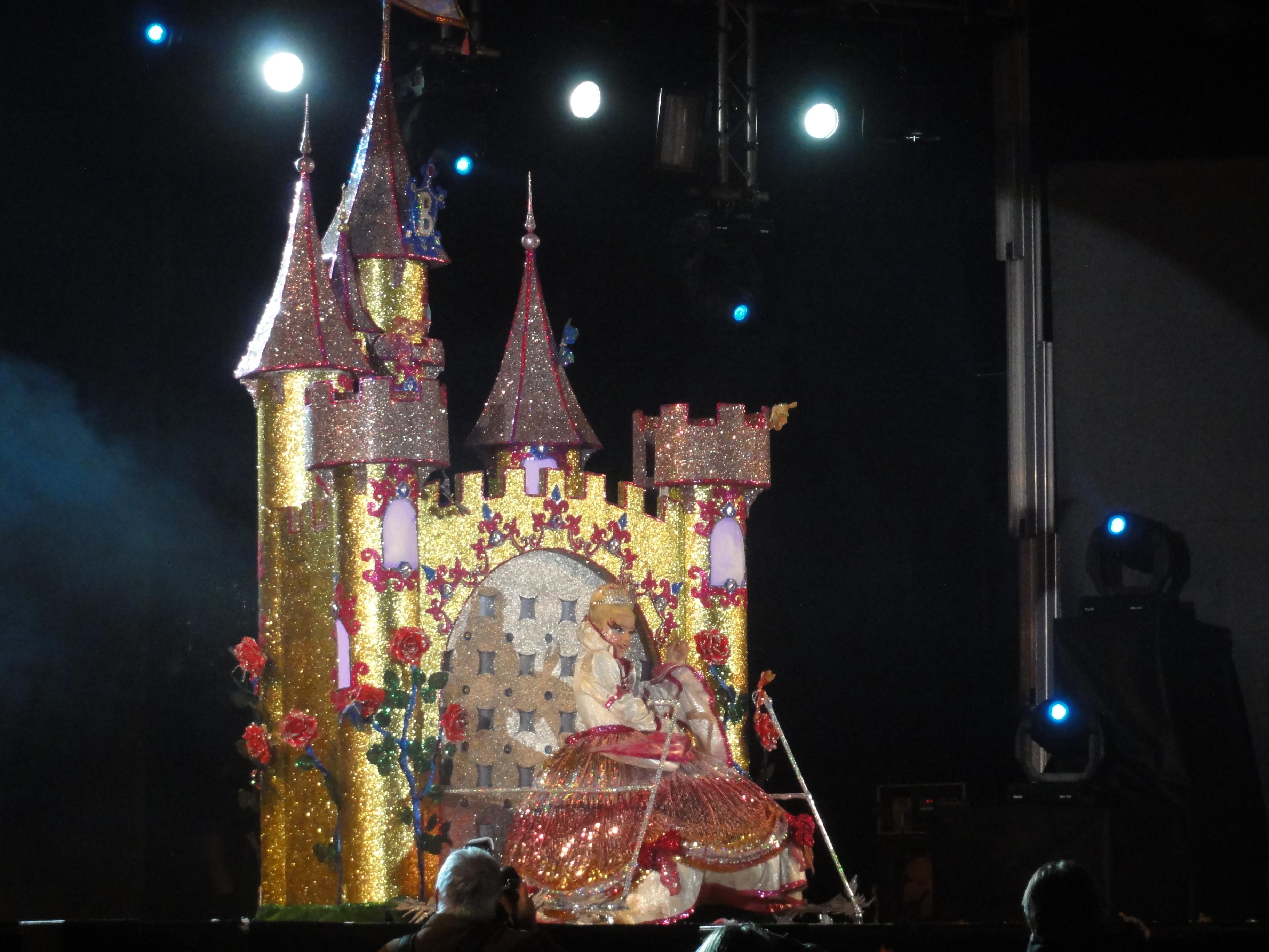 Imatge de la disfressa guanyadora (foto: Tarragona 2012)