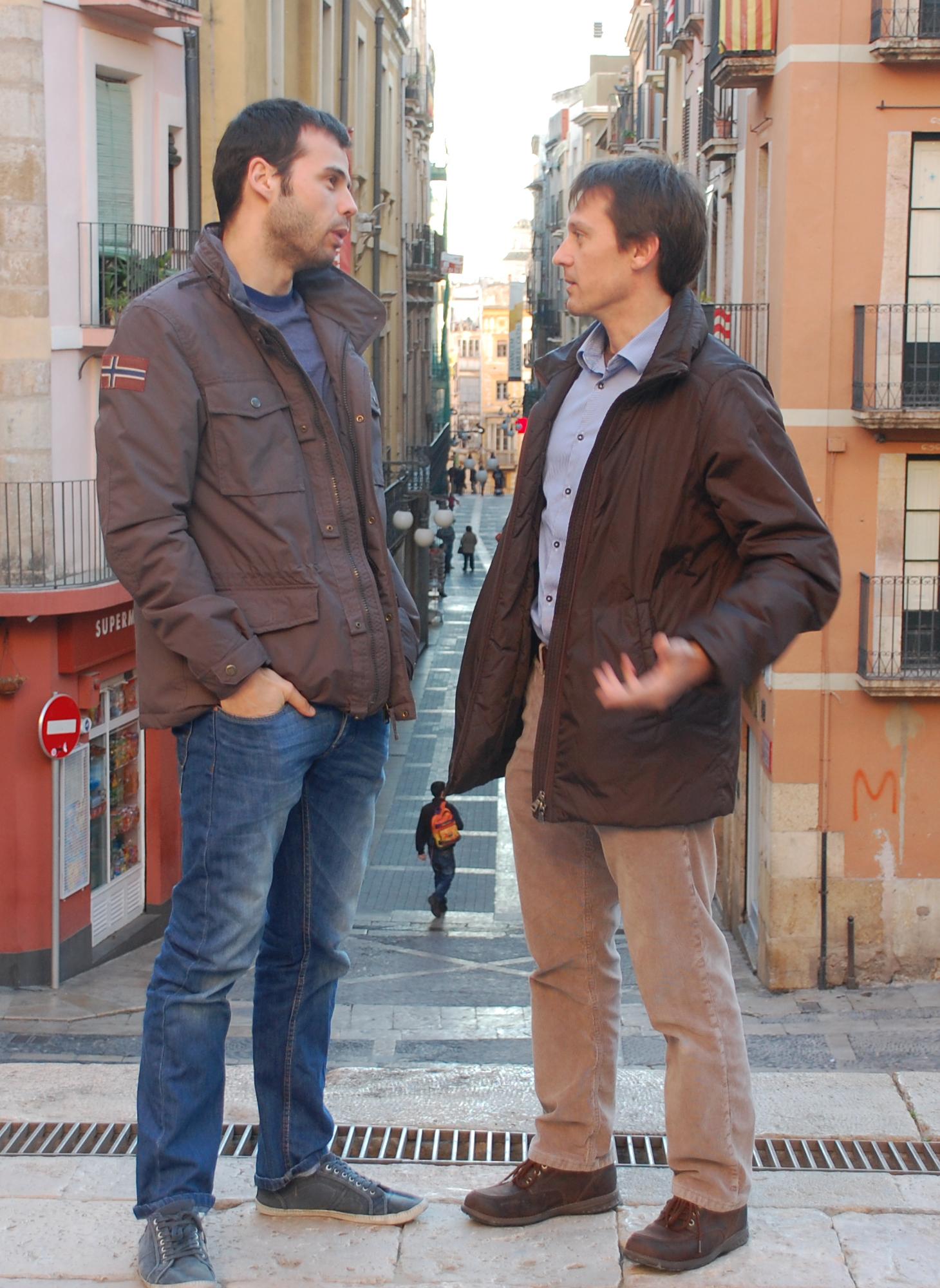 Tots dos tenen ganes i il·lusió de començar la nova temporada castellera