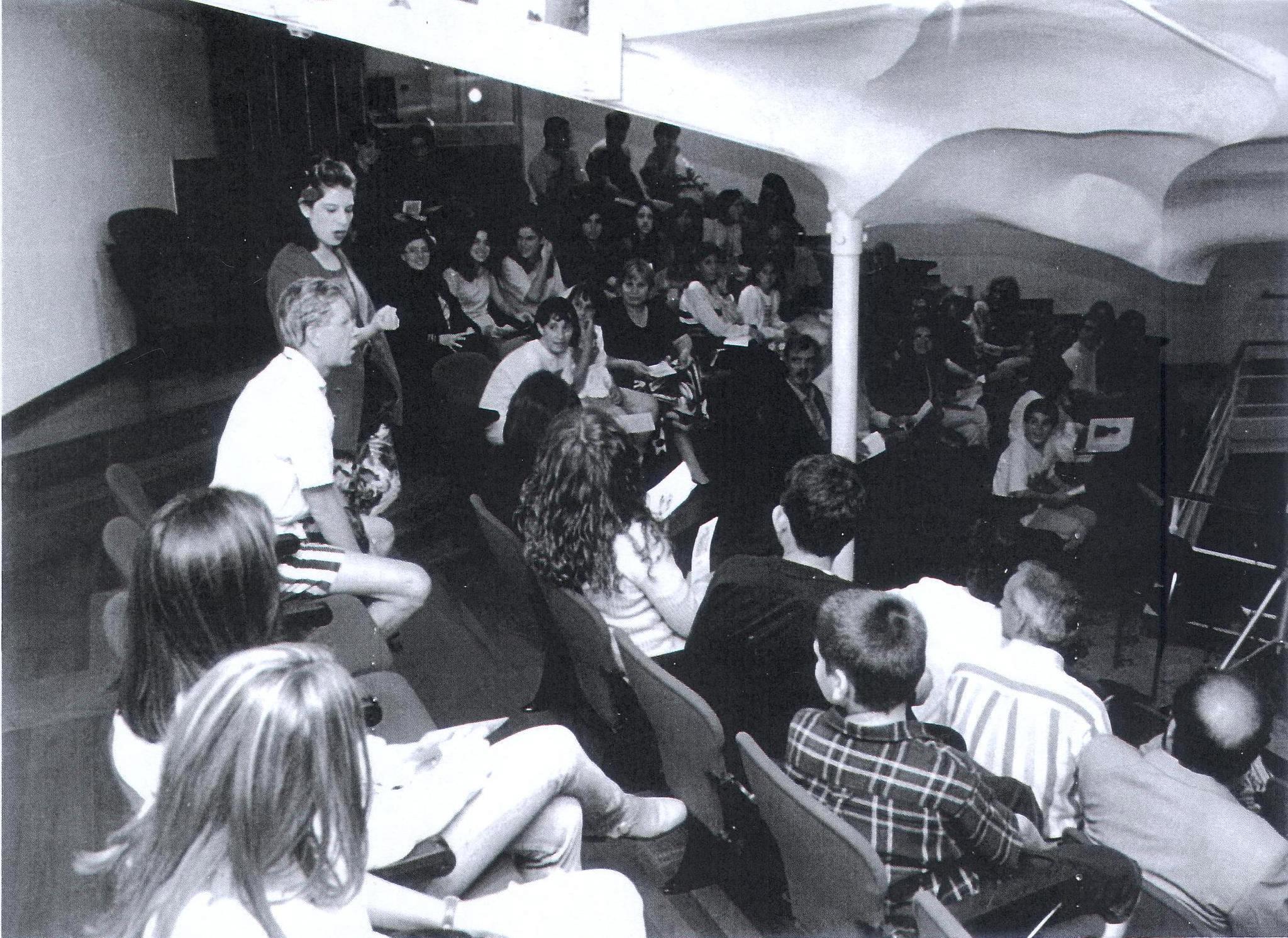 """L'any 1995, el grup Abisme va presentar, al Metropol, """"El bon doctor""""."""