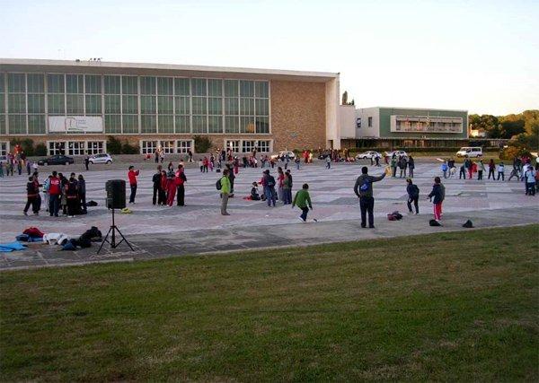 Els organitzadors han escollit l'antiga Universitat Laboral per celebrar-hi la cerimònia de beatificació (foto: cedida)
