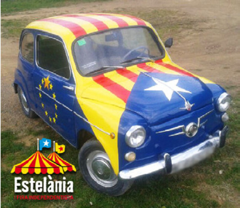 Una de les imatges de promoció d'Estelània,  fira itinerant independentista (foto: Estelània)