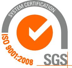L'empresa SGS compta amb un certificat ISo de qualitat