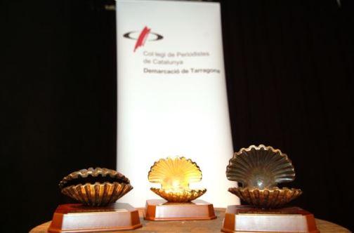 Aquest any la Petxina Daurada s'ha atorgat, en fomat de xapa, a tots els periodistes de la demarcació (foto: CPC)