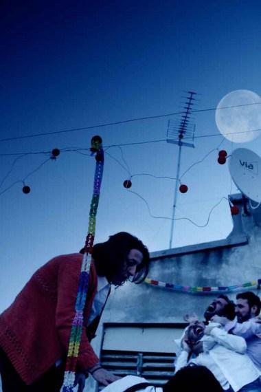 """""""Que te vaya bonito"""" es va escenificar al pati de Casa Canals (foto: Anna Plaza)"""