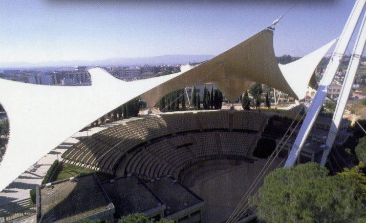 L'auditori del Camp de Mart, escenari dels espectacles del festival d'estiu de Tarragona (foto: cedida)