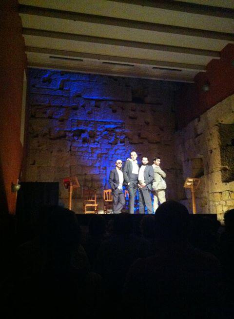 """""""Las julietas"""" es va representar a la sala del Col·legi d'Arquitectes de Tarragona (foto: Sala Trono)"""