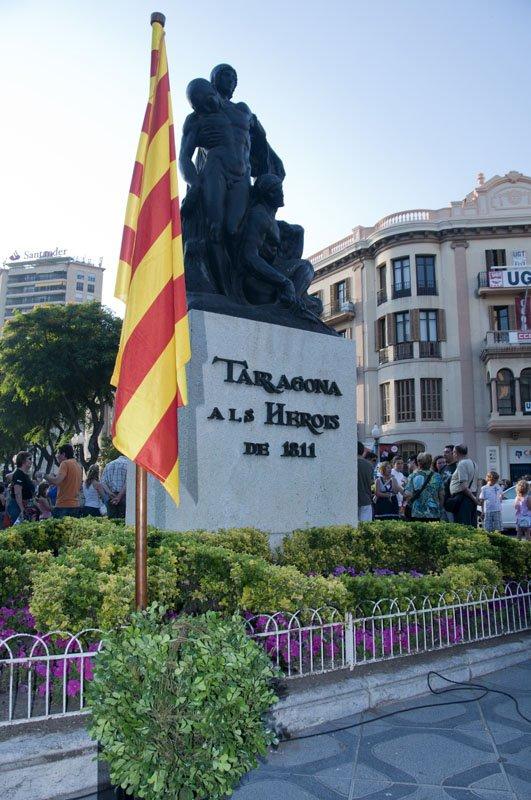 El monument als herois del setge de Tarragona del 1811 (foto: cedida)