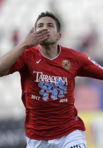 Jordi Alba amb la samarreta del Nàstic (foto: el9)