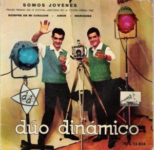 Portada d'un dels discos publicats l'any 1962 pel Dúo Dinámico