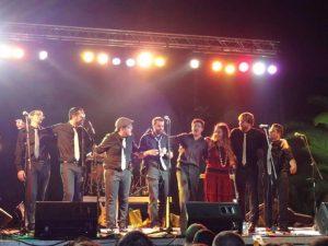 Concert dels Satriale's a l'edició de la iMAGInada 2012.