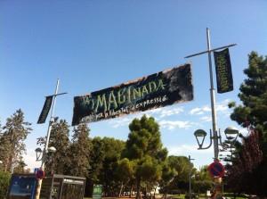 Entrada a l'espai de la nova iMAGInada, situada als jardins del Camp de Mart (CEDIDA: Imaginada).