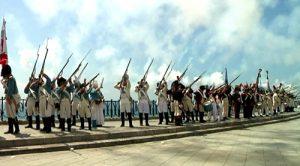 Imatge de l'audiovisual de presentació de les jornades de reconstrucció històrica celebrades el juny de 2011