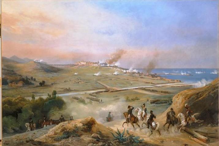 Presa de Tarragona pel general Suchet, el 28 de juny de 1811, obra del pintor francès Remond (foto: wikimedia)
