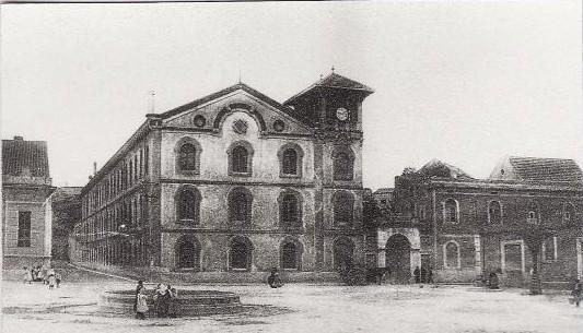 Una de les primeres imatges que es conserva de la fàbrica.