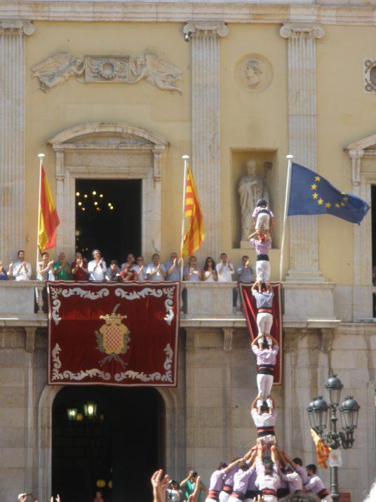 Amb el pilar de set descarregat, la Jove de Tarragona completava ahir la millor actuació de la seva història i d'una colla tarragonina