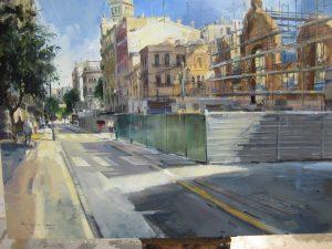 Primer premi del concurs de pintura Tarragona modernista organitzat pel Rotary Club