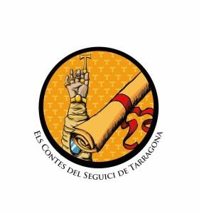 El logotip de la inciativa Els contes del Seguici de Tarragona, creat per Dídac Francisco.