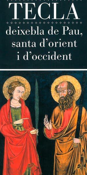 """Cartell de l'exposició """"Iconografia i goigs de Santa Tecla"""" celebrada el 2011 al Seminari de Tarragona"""