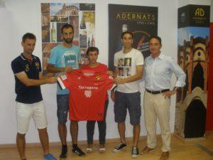 L'Espai Adernats s'estrena amb el lliurament de les primeres samarretes oficials de la temporada a guanyadors d'un concurs