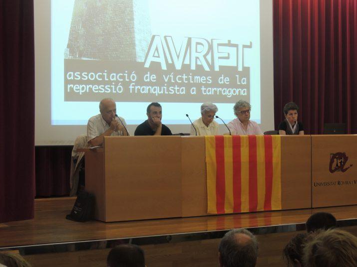 Imatge dels ponents que van participar en la xerrada.