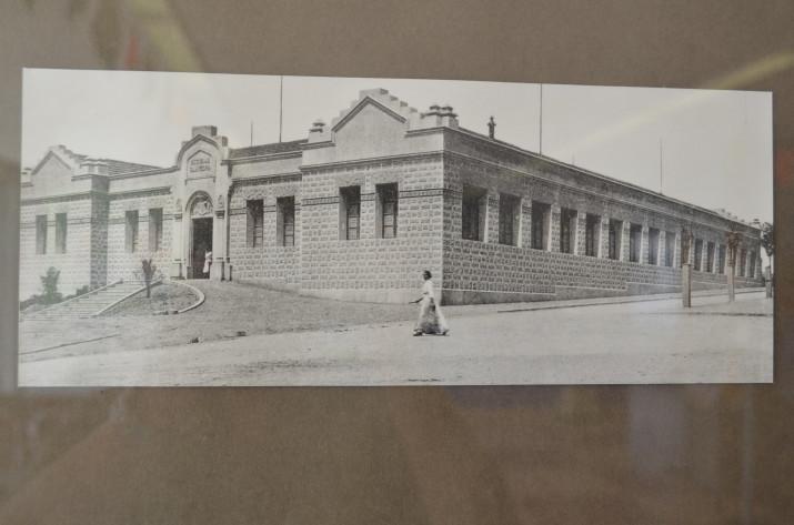 Imatge del primer col·legi Saavedra, inaugurat el 24 de setembre de 1913 (foto cedida per l'escola Saavedra)