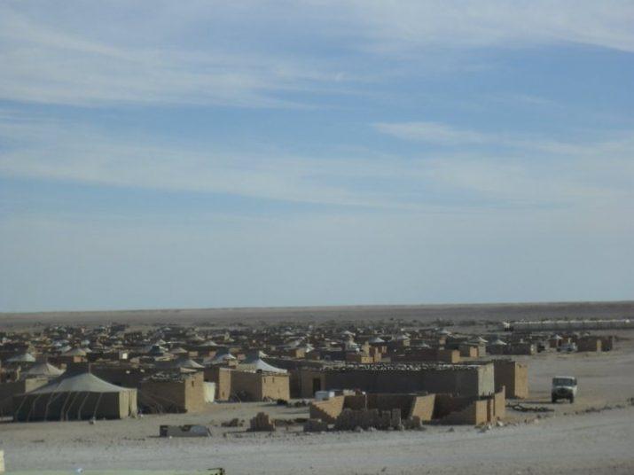 """Vista del campament de Smara (CEDIDA: """"Una finestra al món"""")."""