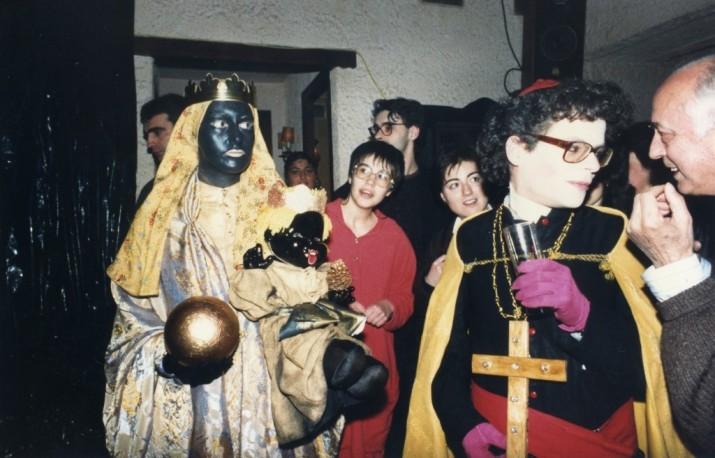 Festa de Carnaval de 1988 al Cafè Poetes