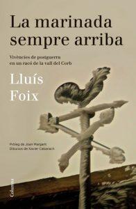 """Coberta de """"La marinada sempre arriba"""", de Lluís Foix."""