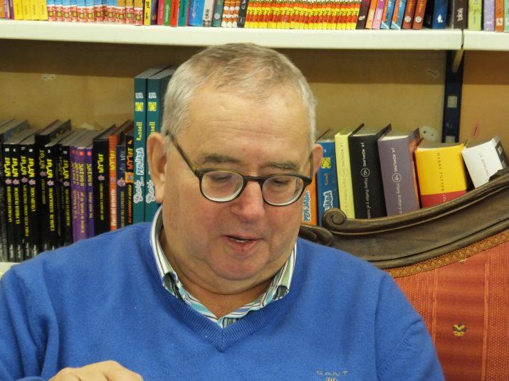 Ignasi Riera és l'autor d'un llibre sobre la vida i obra del poeta tarragoní, Ramon Comas i Maduell