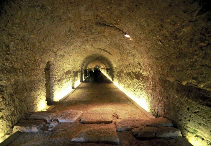 Volta del Circ romà de Tarragona, un dels indrets que visitarem dissabte 25 de gener amb el catedràtic d'Arqueologia, Joaquin Ruiz de Arbulo (foto: Tarragona Turisme)