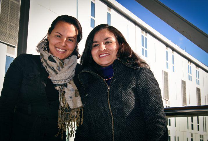 Lismary Cristina Castillo i Paila Villavicencio formen part de la comunitat estrangera resident a Tarragona i que treballen o estudien a la URV