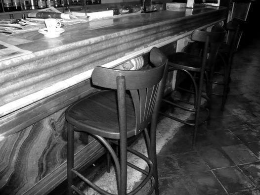 Taulell del Bar La Joia, històricament instal·lat al número 32 de la Rambla (foto: ARXIU RAFAEL VIDAL RAGAZZON)