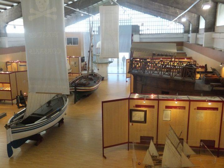Aspecte general del Museu del Port de Tarragona, obert al públic l'any 2000