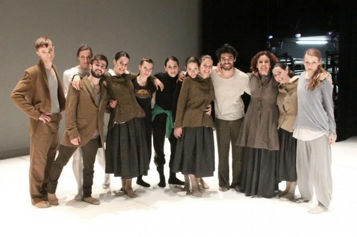 Els membres de la companyia de dansa Plan B, instal·lada a Tarragona i liderada per Arantxa Sagardoy i Alfredo Bravo (foto cedida per la companyia)