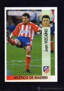 Juan Vizcaino és actualmente tercer entrenador de l'Atlético de Madrid.