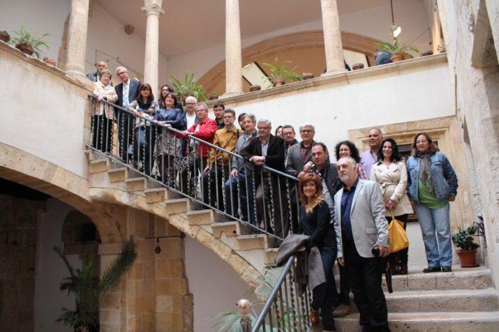 Obertura de la Casa de les Lletres a l'Antic Ajuntament (foto: Mauri Fernández)