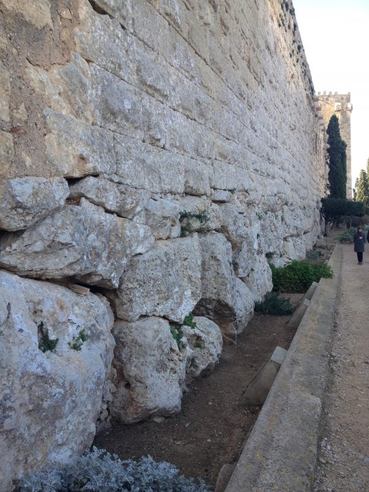 La muralla de Tarragona (foto: Xavier Climent)