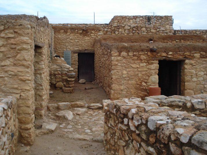 El poblat ibèric de Calafell (foto: Xavier Climent)