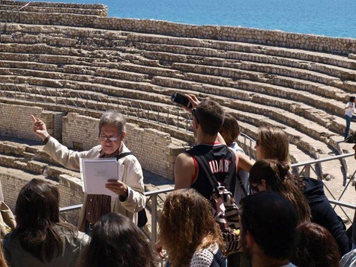 La Ruta Estellés va cloure a l'interior de l'Amfiteatre de Tarragona.