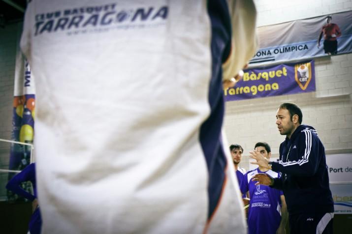 Berni Àlvarez en una sessió d'entrenament al Serrallo.  Foto: David Oliete