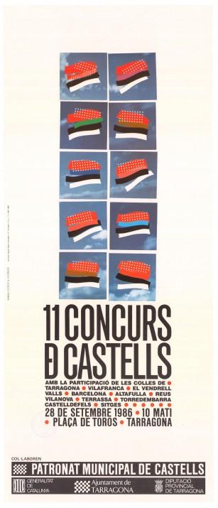 Cartell-Concurs-de-Castells_1986-baix