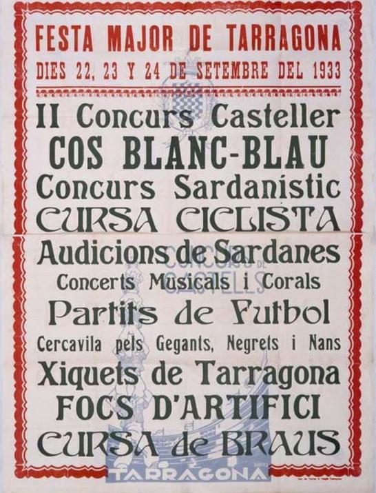 Cartell-Santa-Tecla-1933