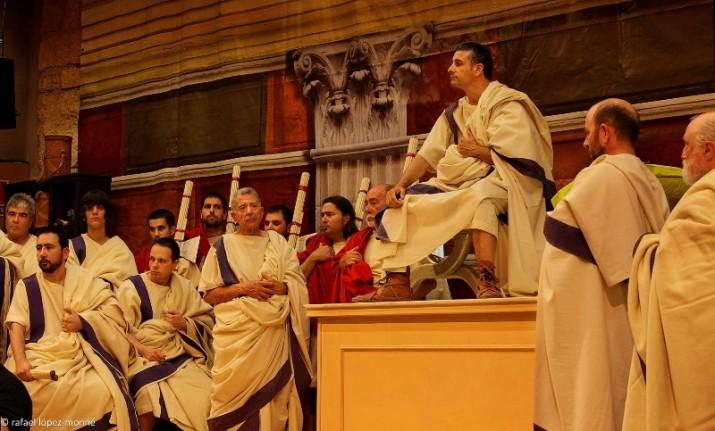 El Senat romà. Projecte Phoenix (foto: Rafael López Monné)
