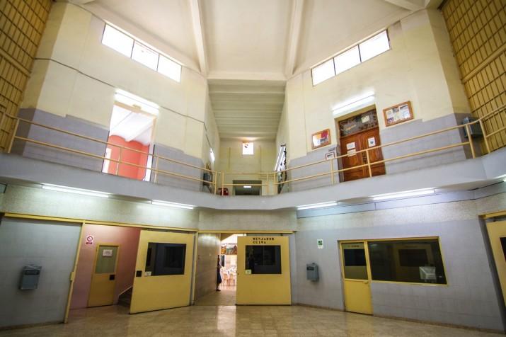 Imatge de l'interior de la presó de Tarragona (foto: David Oliete)