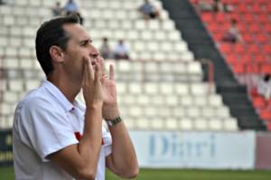Vicente Moreno tornarà a ser la veu del Nàstic des de la banqueta. Foto:A.B.